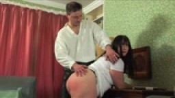 Spanked by Mr D'arcy!