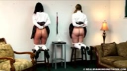 Strapped after Corner Time - Real Spankings Institute
