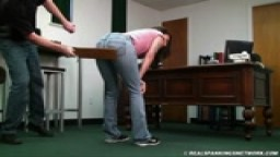 Raquel's Big Day with the Paddle Trailer - Realspankings