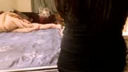 Beginning of spanking
