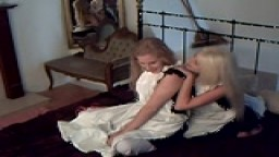 Two Victorian maids Spanking