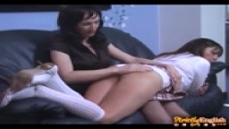 All New Girl on Girl Spanking Special - SEO
