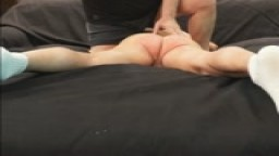 BRAT-NUDE PUNISHMENT-STRIPPED & BELT SPANKED