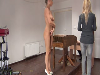 Ally - The Spanking Machine - SpankingTube.com
