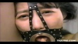 Extreme Asian Teen Facial Bondage
