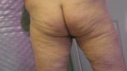 I enjoy self spanking and showing my fat ass