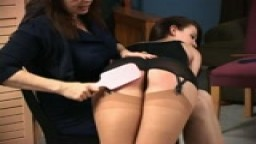 Stephanie Locke Spanks Cheyenne Part 3 (Talking and Spanking Clip)