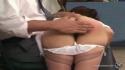 No Ifs Ands - Just Butts! 3 (Susan Mills Spanking and Vibrator Clip)