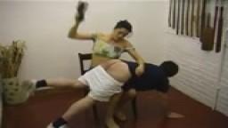girlfriend spanks