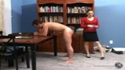 Mistress Gemini Paddles Tom