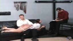 Nurse Page - Bare Bottom Spanking 1