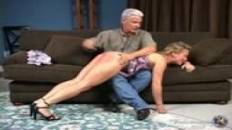 Dia Spanked Nude