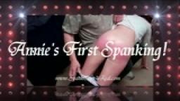Annie's First Spanking!