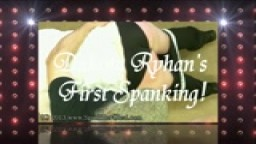 Dakota Ryhan gets her first spanking!