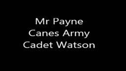 Army cadet Punishment