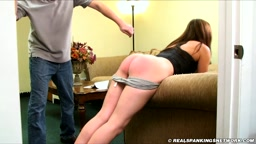 Spanked Hard with the Belt - Realspankings