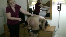 Punishing the Haughty Office Slut - Stripped Nude and Severely Spanked/Caned/Strapped/Paddled! Feat. Cupcake SinClair &