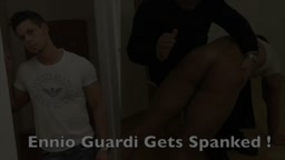 Ennio Guardi Gets Spanked!