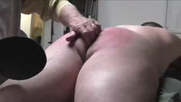 Spanking with some diapering