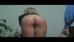 Kristine Spanked Doggystyle