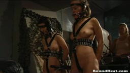 Lesbian Slave Huntress 2 from Boundheat