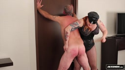 Julie Simone Paddles and Whips slave