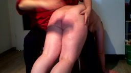 Nude Spanking for Shopping 1 - Severe Hand & Wooden Spoon (Trailer)