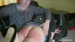 PURE PUNISHMENT SERIES: Kisa's upkeep spanking