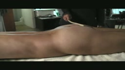 Caned lying on the table