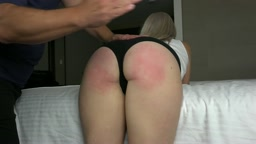 7 Days of Spanking - Bubble Butt Blonde