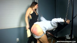 Spanked by MissBratDom