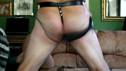whipping/flogging the arse – whips & flail