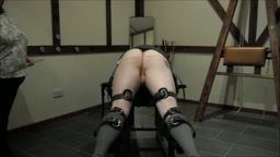 Punishment caning by Lady Pandora