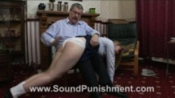 Sound Punishment - Karen's first slippering