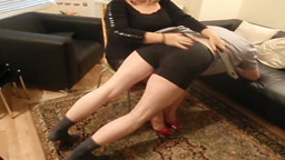 Naughty boy needs another OTK spanking!