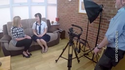 Behind the scenes with Jess   Now in our spanking library