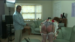 The cane hurts   Now also in our Spanking Library