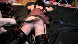 crossdresser spanking