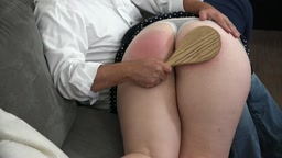 Willful Housewife - Paddled and Begging