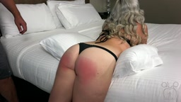 She knows when she's been naughty – Beckys; Forbidden Thong Bikini Belt Whipping.