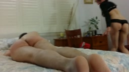Wife Spanks Hard Part 5