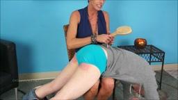 Katrina Spanks Teacher Part 2