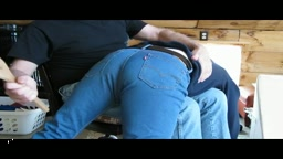 OTK paddling and strapping on Levis