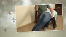 Annie's curfew spanking!