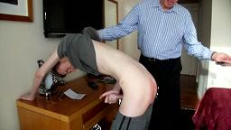 Scots Boy Mattie is Flogged