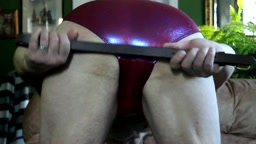 Happy Valentine's Day 2017 - underwear self spank – shiny underwear, hands, belts