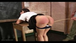 Severe Bare Bottom Caning