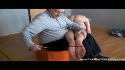 JAMES HUCK - (feet and spanking)