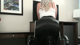 An Office Affair - Naughty Secretary Spanked and Belt Whipped
