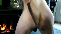 40 days of Lenten fun – day 13  - harness leather belt, rubber canvas school strap